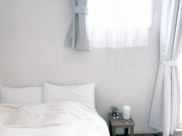 カーテンを白にしてリフレッシュ!オシャレなカーテンって?
