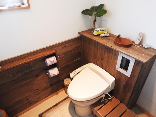 トイレを褒められインテリアに!和風で洗練された空間へ