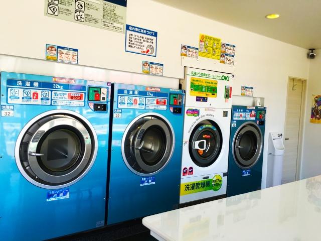 カーペットの洗濯!コインランドリーの乾燥機で時間を短縮