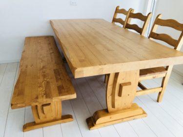 長年使ったテーブルに剥がれが!補修する方法をご紹介!