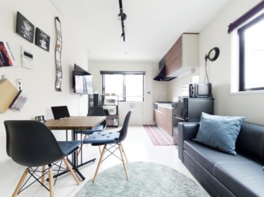 1DKは何人向けの部屋?快適な家具の配置は家族構成で変わる