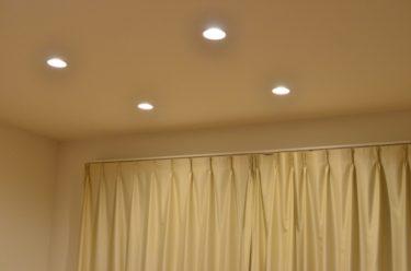 ダウンライトをリビング照明に!失敗しない設置方法を紹介!