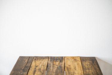 テーブルの天板だけオーダーメイドで!素材を選ぼう