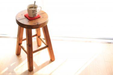 スツールが欲しい!木製で高さ調節ができるアイテムは?