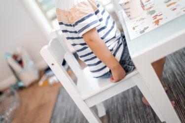 おしゃれなキッズ用テーブル&椅子で子供の自立心を育てよう