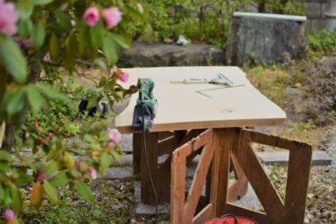 テーブルを塗装してアンティーク風に仕上げてみよう!
