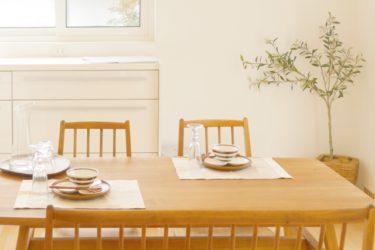 バタフライテーブルはコンパクト・広々の両方で使えて便利!
