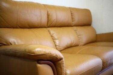 気楽に使える合皮革ソファがおすすめ!お手入れも簡単!