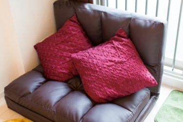 コンパクトな座椅子?ゆったりソファ?一人暮らしを快適に!